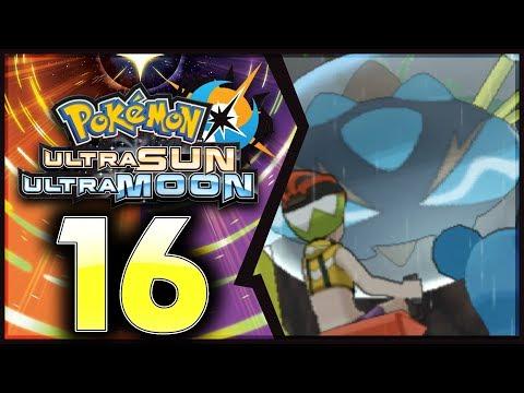 Pokemon Ultra Sun and Moon: Part 16 - Lana's Trial! [100% Walkthrough]