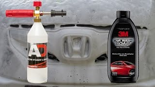 Snow Foam Lance Test : 3M Car Wash Soap 79000B