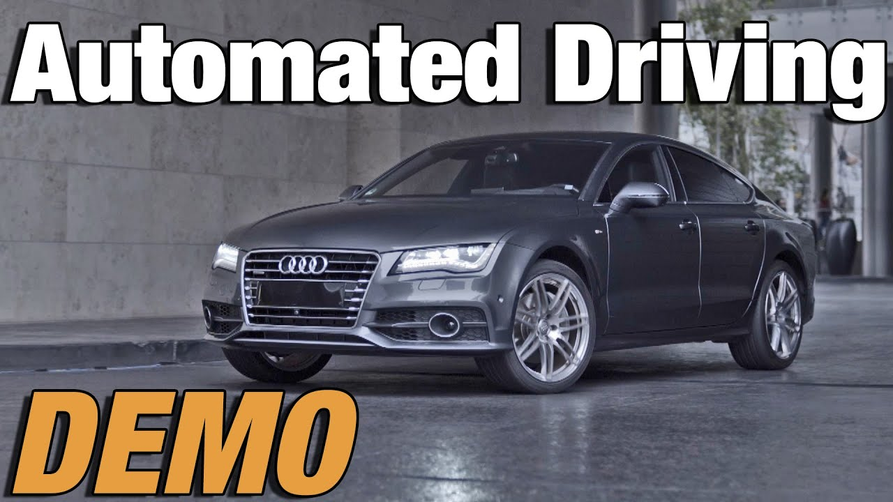 Audis Automated Driving For Parking YouTube - Audi car that parks itself