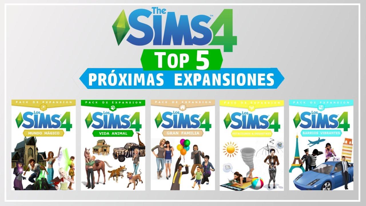 Top 5 Próximas Expansiones En Los Sims 4 Youtube