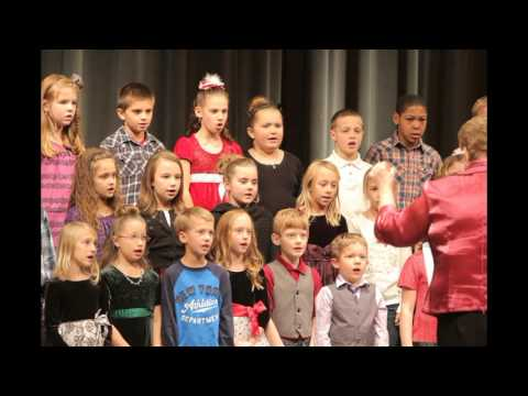 Lincoln Christmas Vocal Music Program - 3rd & 4th Grades @ WHS