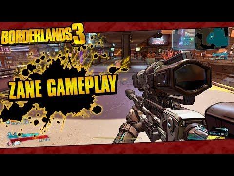 Borderlands 3   Zane The Operative Gameplay