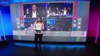 شجار على الهواء بين المطرب السوري علي الديك والإعلامي اللبناني سلام الزعتري بسبب بشار الأسد