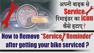 How to Remove Service? Reminder in Bikes | #AG | PR Moto Vlogs