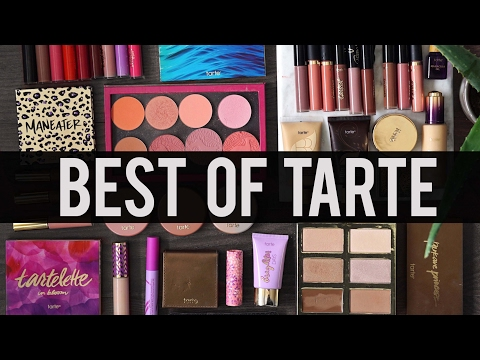 BEST OF TARTE COSMETICS: My All-Time Favorite Products | Jamie Paige