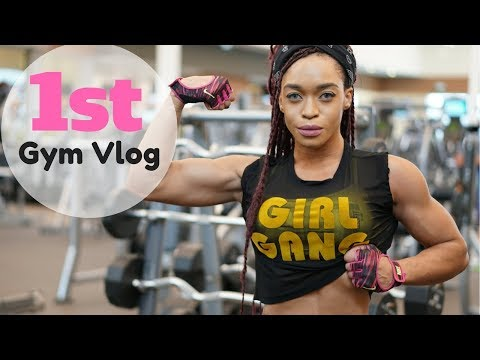 Fitness Workout Vlog  Gym Day with Lola Montez