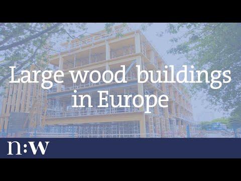 Large Wood Buildings in Europe