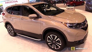 2017 Honda CRV EX - Exterior and Interior Walkaround - 2017 Chicago Auto Show