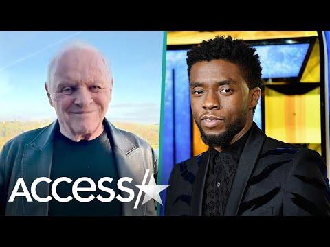Anthony Hopkins honors Chadwick Boseman after Oscar win