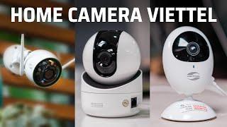 Trên tay camera an ninh Home Camera và ứng dụng VHome của Viettel