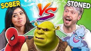 Can Stoners Explain Shrek & Other Movie Characters? (React)