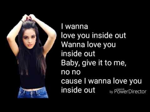 Camila Cabello - Inside out (lyric video)