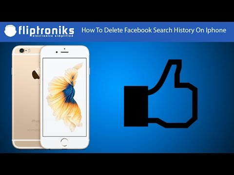 How To Delete Facebook Search History On Iphone - Fliptroniks.com