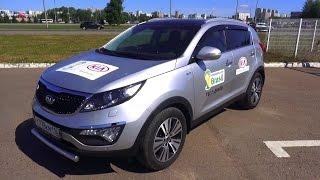 2014 Киа Спортейдж Premium. Обзор (интерьер, экстерьер, двигатель).