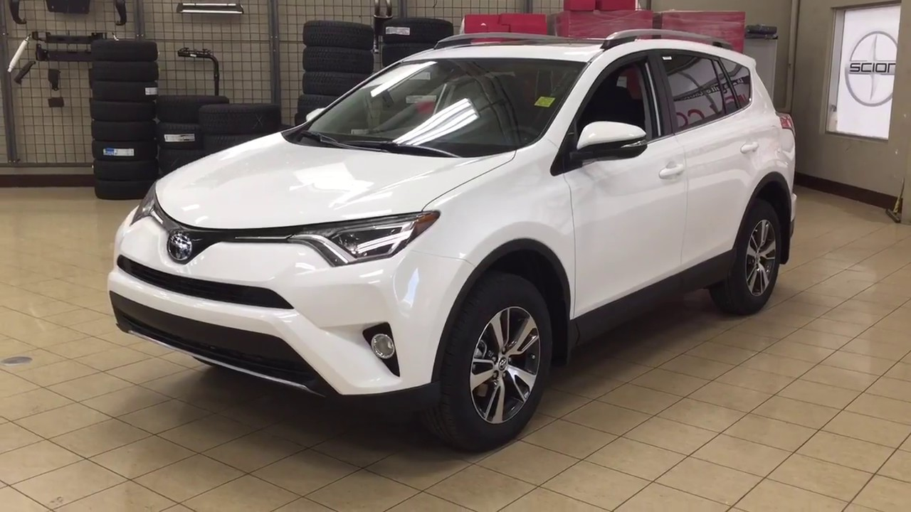 2018 Toyota Rav4 Xle Awd Review