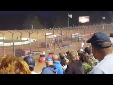 Lernerville speedway steel city stampede super late feature