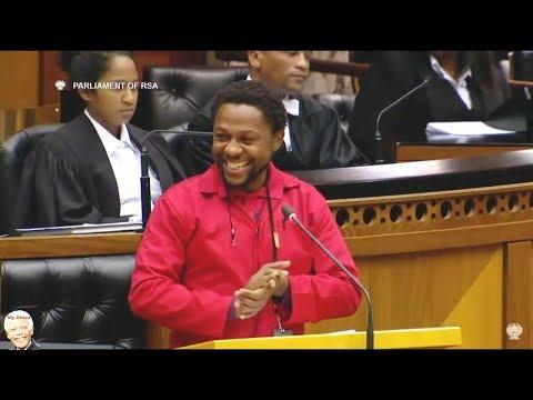 WATCH Doctor Ndlozi Speaks In Parliament