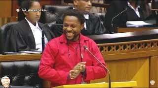 WATCH Doctor Ndlozi Speaks In Parliament