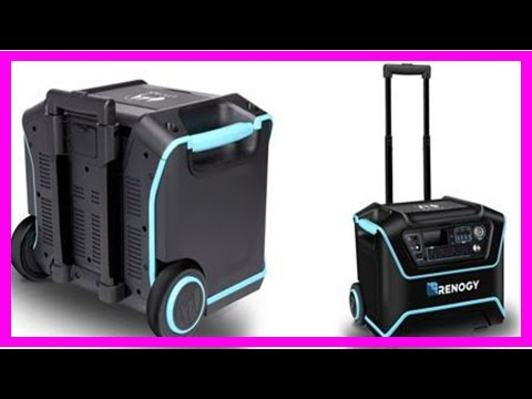 Breaking News | Renogy reveals lycan powerbox solar-powered generator