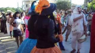 """Xantolo Tantoyuca 2009 Cuadrilla Rastro DIF """"2 de Noviembre"""" 1/3"""