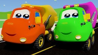 The Wheels on the Dump Truck Part 3 Children Song by SmartBabySongs