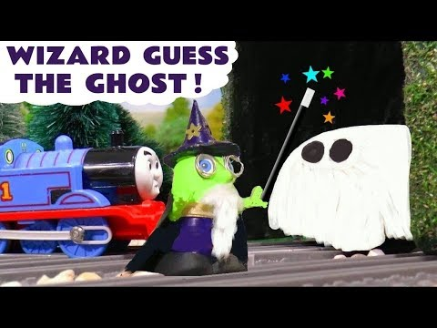 Thomas & Friends Guess The Ghost Play Doh Game with Superheroes and Funny Funlings TT4U