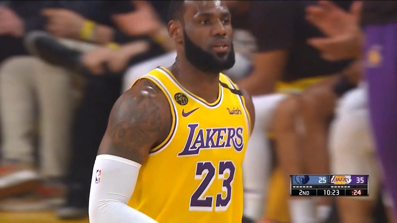 Los Angeles Lakers vs Memphis Grizzlies 1st Half Highlights | February 21, 2019-20 NBA Season