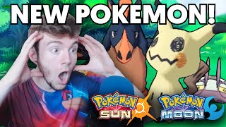 Pokemon Sun & Moon News - NEW POKEMON REVEALED - REACTION & SPECULATION w/ GameboyLuke!