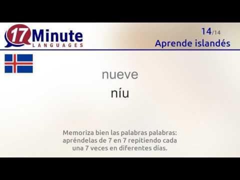 Aprende islandés de forma gratuita con nuestro nuevo formato en vídeo.