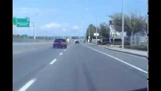 Blown Mustang Rolling Burnouts