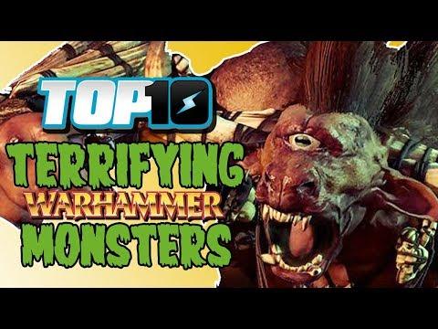 Top 10 Terrifying Warhammer Monsters