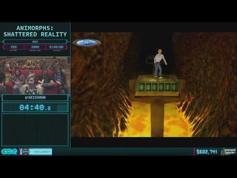 Animorphs: Shattered Reality by Keizaron in 40:13 - AGDQ 2018 - Part 88