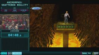 Animorphs: Shattered Reality by Keizaron in 40:13 AGDQ 2018