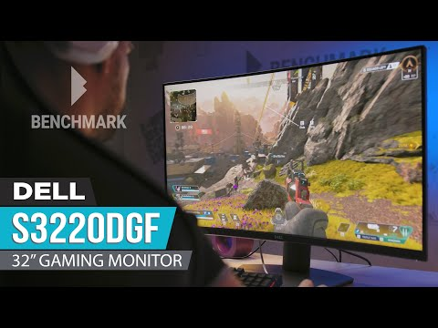 "Dell S3220DGF 32"" Curved Gaming Monitor Review - Classic look, modern performance"