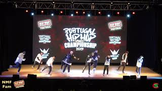 NMF FAM // MEGACREW Silver Medalists @ Hip Hop International Portugal 2019 | Final