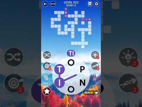 Wordscapes Level 923