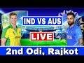 LIVE : India Vs Australia 2nd ODI | IND VS AUS Today Match Live Streaming | Ind Vs Aus 2nd ODI Live