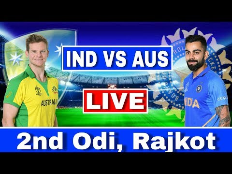 LIVE : India Vs Australia 2nd ODI | IND VS AUS Today Match Live Streaming | Ind Vs Aus 2nd ODI Live