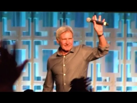 Thumbnail: Harrison Ford surprises fans at Star Wars Celebration 2017 Orlando in 40th anniversary panel