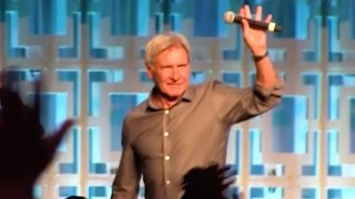 Harrison Ford surprises fans at Star Wars Celebration 2017 Orlando in 40th anniversary panel