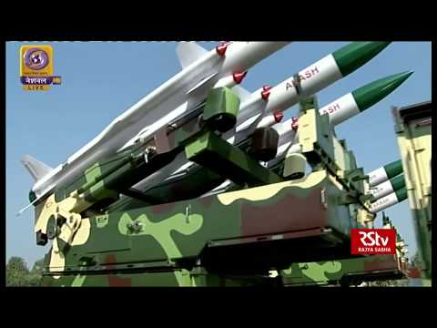 Weapons on display during Republic Day Parade 2019