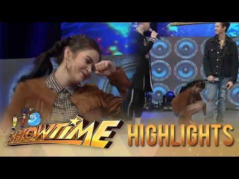 It's Showtime: Bela Padilla's intense