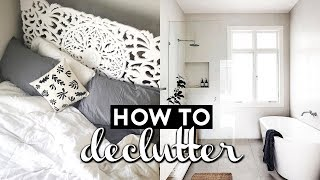 HOW TO DECLUTTER AND REFRESH YOUR SPACE