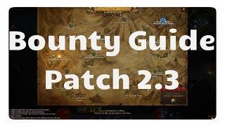 Diablo 3 - Patch 2.3: Bounty Guide (neue Mats)