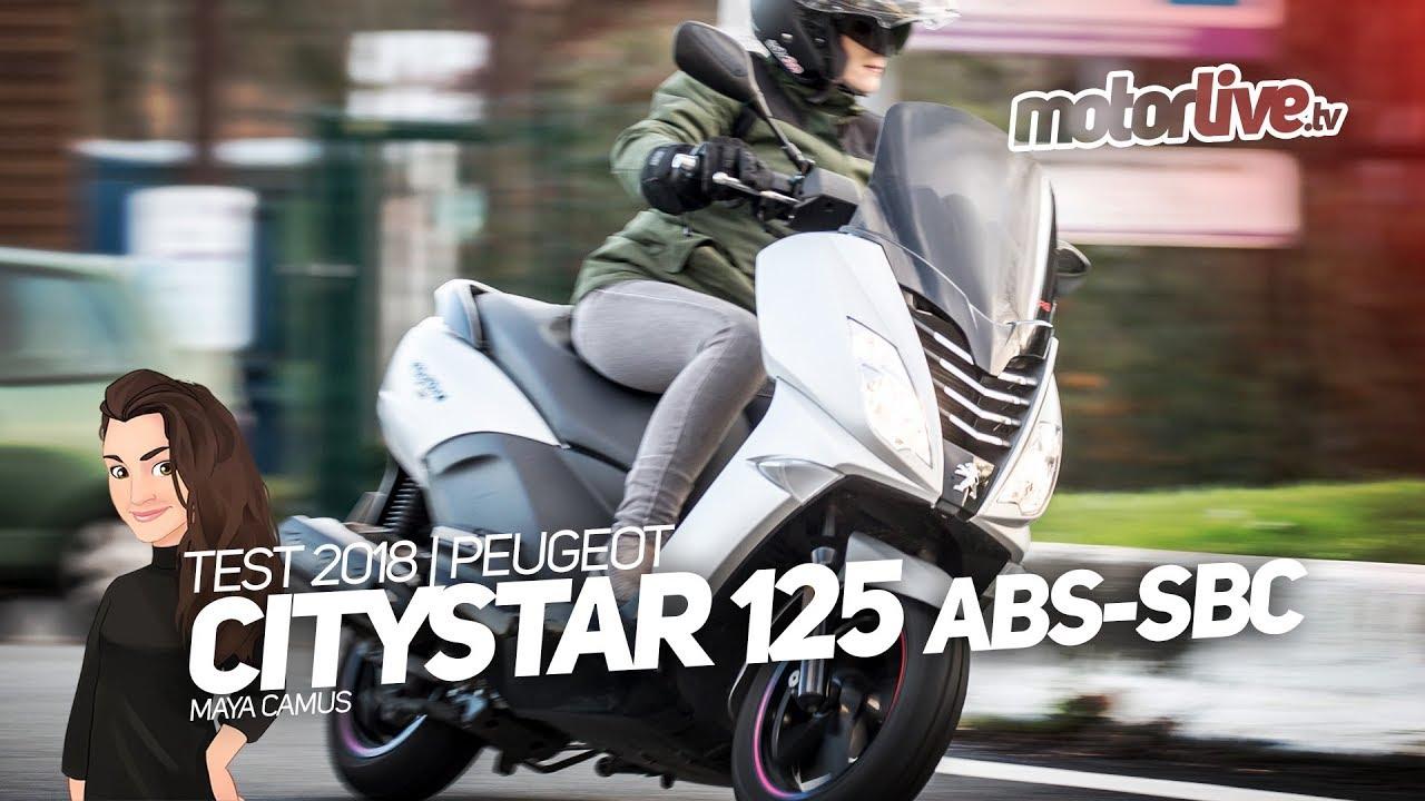peugeot citystar 125 | test 2018 - youtube