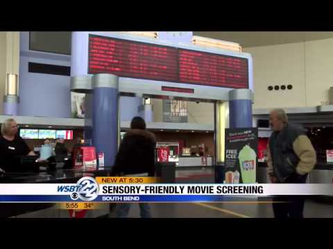 Amc Showplace Screening Film For Children With Special Needs Youtube