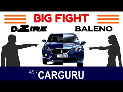 Dzire vs Baleno, The Big Fight, Hot Hatch vs Cool Sedan, Engine, Interior, Variant, Price & All