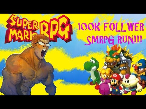 SMRPG Speed Run-3:10:ish (100k Twitch Followers Special)