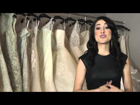 Wedding Dresses That Look Good With Your Hair Down : Bridal Fashion