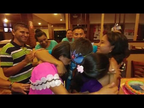 El pastel y las llorazones. Feliz cumpleaños abuelita. Cumpleaños de Jenny Mariela. Parte 7/7